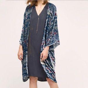 NWT Anthropologie Moonlight Waves Kimono